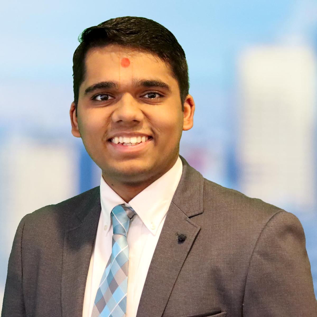 SSP 2020 Student, Avinash Thakkar